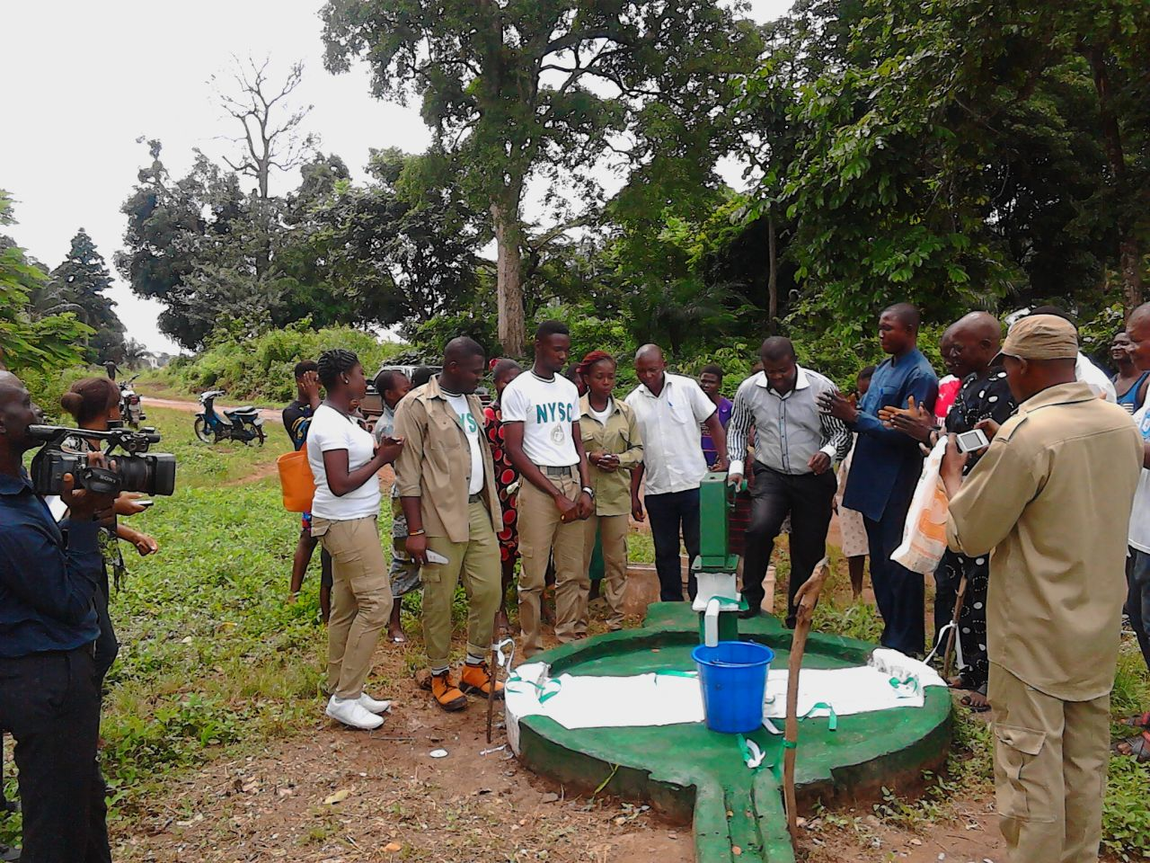 Adedugbe  rolled out streams of life touching projects in Abakaliki