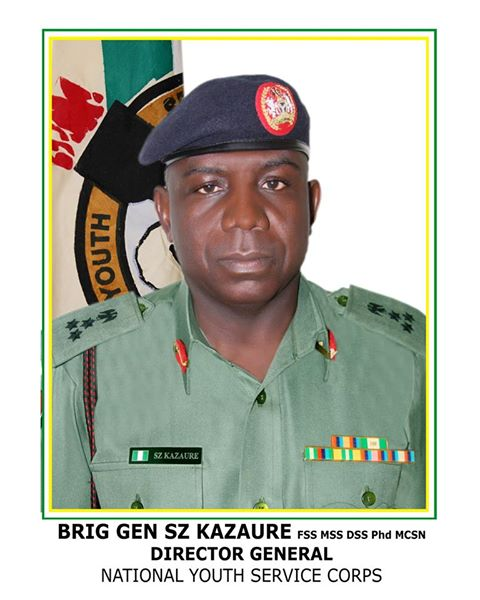 NYSC DG's message to NYSC 2017 Batch A Stream 1 Corps Members