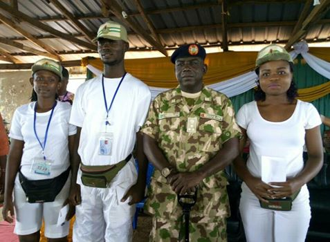 NYSC DG rewards Corps Members for honesty
