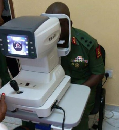 Optometry section now available at NYSC Headquarters Clinic