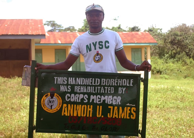 ​​​​Rehabilitation of Hand-held Water Pump by James Anwoh
