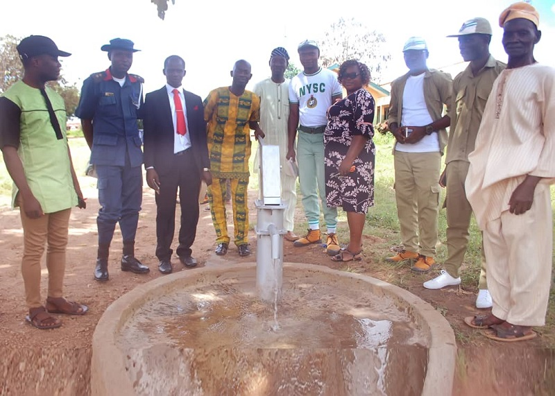 Rehabilitation of Hand-held Water Pump by James Anwoh