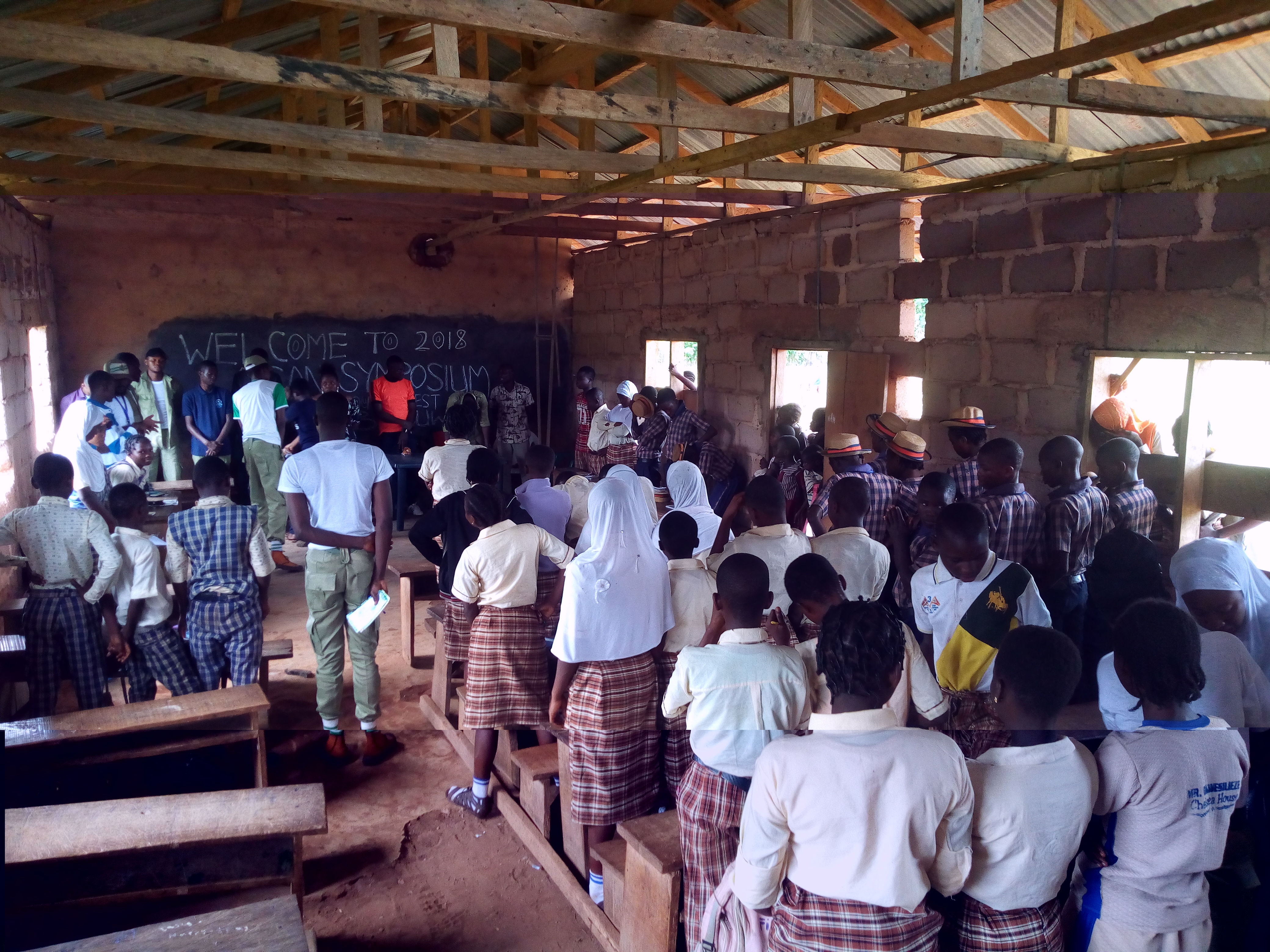 Edo Corps Members Sensitize Students Against Immoral vices and criminal Activities