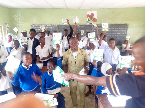Corps Member, Samson Femi, Executes four CDS projects