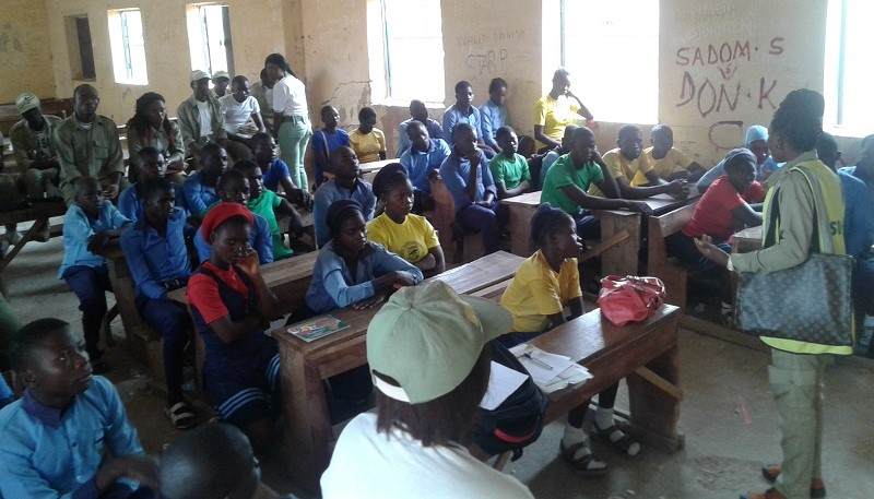 NYSC SDG Group Free Skill Acquisition Training programme students Taraba