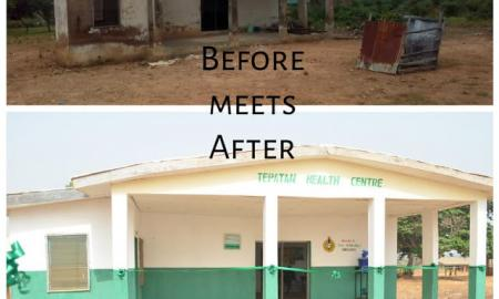 Olayemi transforms Abandoned Health Center in Moro, Kwara State