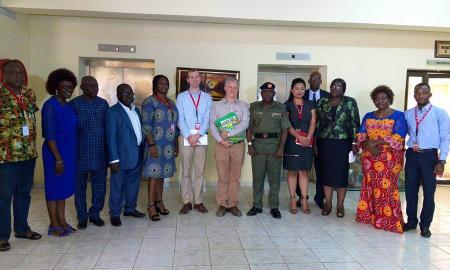 Mercy Corps NGO visits NYSC