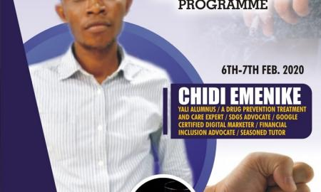 Drugs Sensitization Program by Chidi Emenike