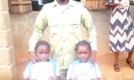 Corps Member Awards Scholarship to Indigent Students in Ahoko Community