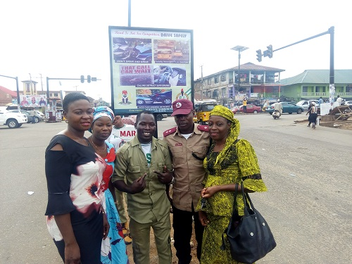 Image result for corps member at main road